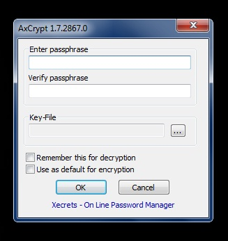 AxCrypt | www SceneBeta com