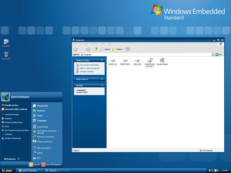 Microsoft windows xp embedded sp2 rg soft
